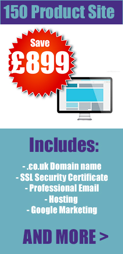 101-150 product ecommerce web design london
