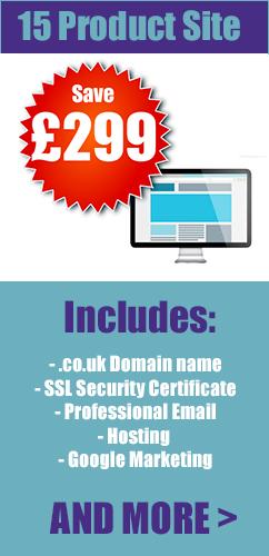 11-15 product ecommerce web design london