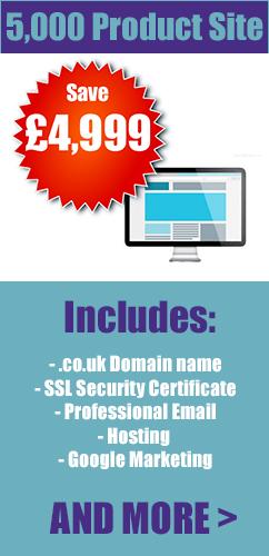 2501-5000 product ecommerce web design london