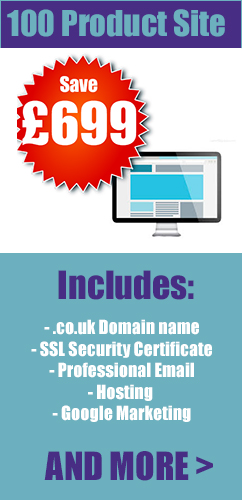 76-100 product ecommerce web design london