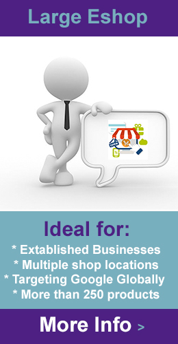 large ecommerce website design london