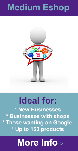 medium ecommerce website design london