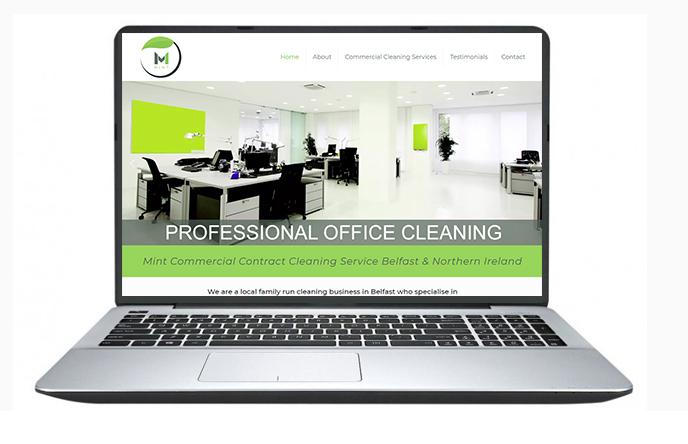 cheap website design example 6